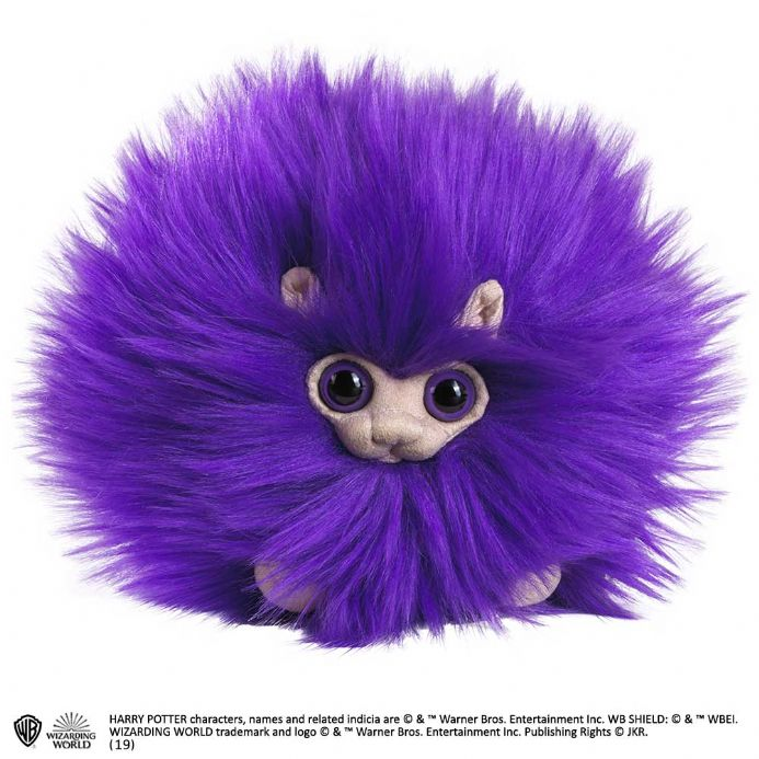 The Noble Collection Harry Potter Pygmy Puff Plush in Purple | Buy now at The G33Kery - UK Stock - Fast Delivery